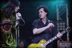 JIMMY PAGE and THE BLACK CROWES