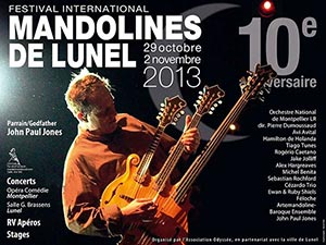 Festival International Mandolines de Lunel 2013