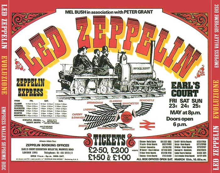 Bootlegs Led Zeppelin 1975