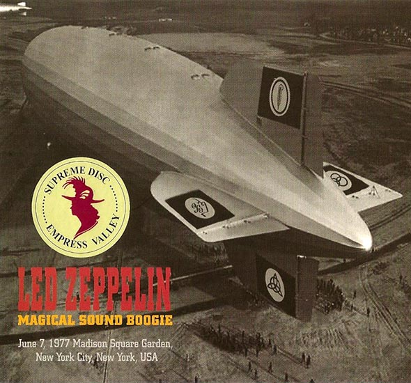 Bootlegs led zeppelin 1977 for Led zeppelin madison square garden