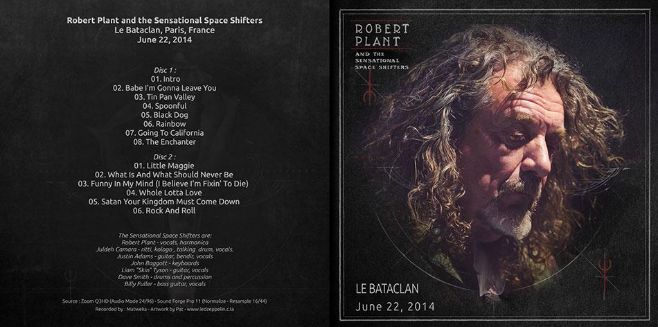 Bootlegs Robert PLANT 2014