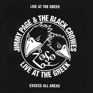 JIMMY PAGE AND THE BLACK CROWES - LIVE AT THE GREEK