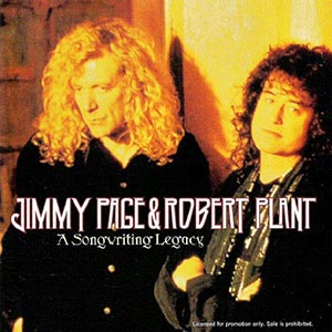 JIMMY PAGE AND ROBERT PLANT - A SONGWRITING LEGACY